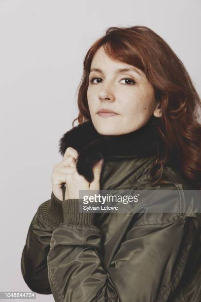 Actress Justine Le Pottier is photographed for Self Assignment on February, 2018 in Gerardmer, France.