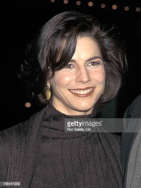 Actress Justine Miceli attends the Bed of Roses Century City Premiere on January 18 1996 at Cineplex Odeon Century Plaza Cinemas in Century City...