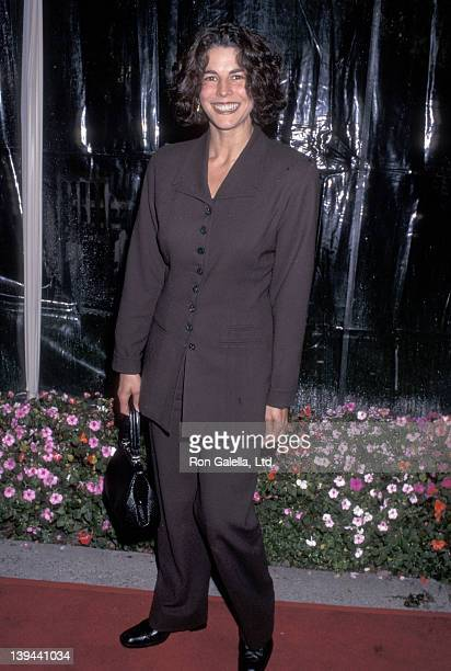 Actress Justine Miceli attends the Primal Fear Hollywood Premiere on April 1 1996 at Paramount Studios in Hollyowod California