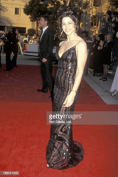 Actress Justine Miceli attends the Third Annual Screen Actors Guild Awards on February 23 1997 at Shrine Exposition Center in Los Angeles California