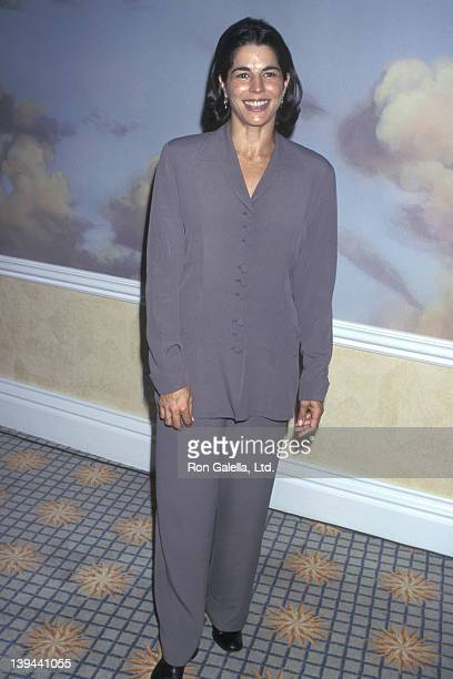 Actress Justine Micelli attends the Women in Film's Second Annual Lucy Awards on September 9 1995 at Beverly Hills Hotel in Beverly Hills California