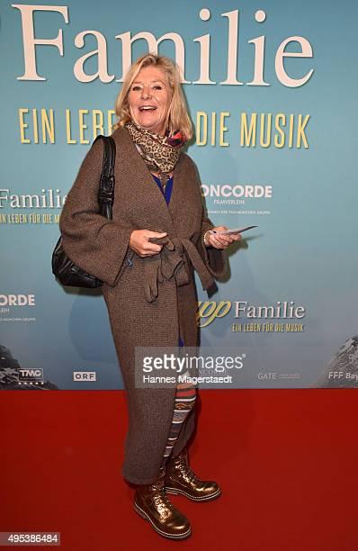 Actress Jutta Speidel attends 'Die Trapp Familie Ein Leben fuer die Musik' German Premiere at Gloria Palast on November 2 2015 in Munich Germany