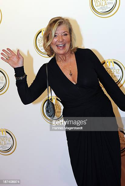 Actress Jutta Speidel attends the charity gala in favor of 'McDonald's Kinderhilfe Stiftung' at Postpalast on November 8 2013 in Munich Germany