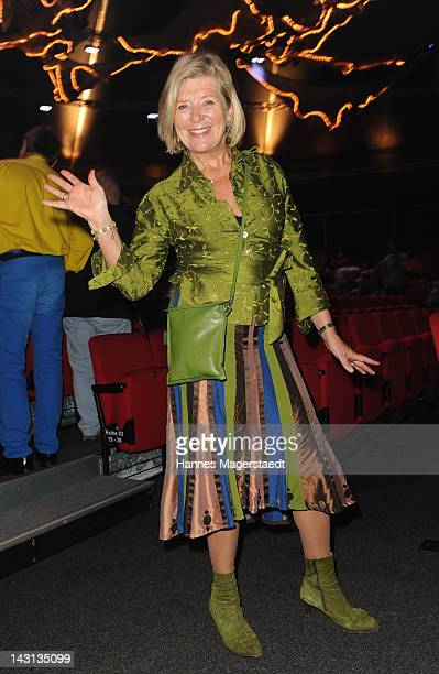 Actress Jutta Speidel attends The Who's Tommy Premiere at Deutsches Theater on April 19 2012 in Munich Germany