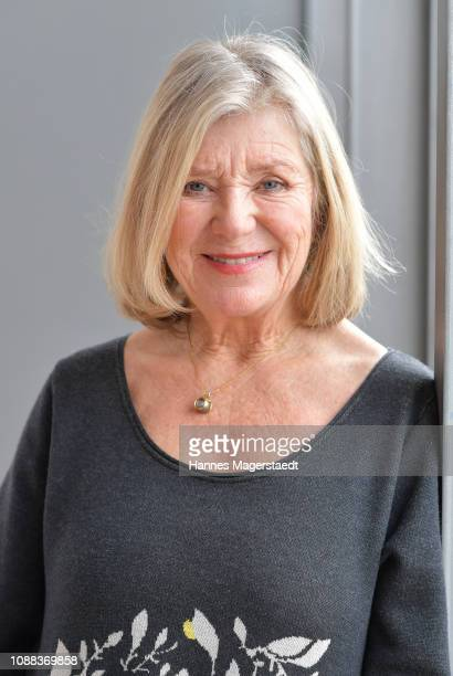 Actress Jutta Speidel during the BR Film Brunch at Literaturhaus on January 25, 2019 in Munich, Germany.