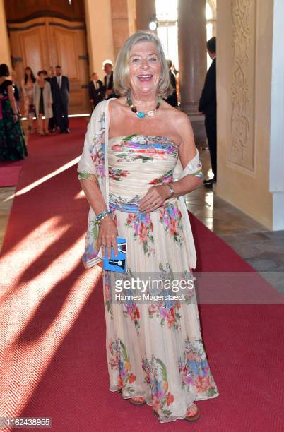 Actress Jutta Speidel during the Summer Reception of the Bavarian State Parliament at Schleissheim Palace on July 16 2019 in Munich Germany
