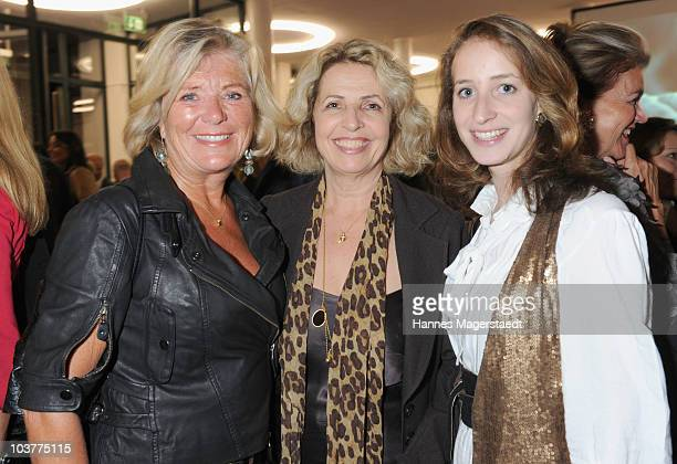 Actress Jutta Speidel Michaela May and her daughter Lilian Schiffer attend the Gabriele Blachnik atumn and winter 2010/2011 fashion collection at the...