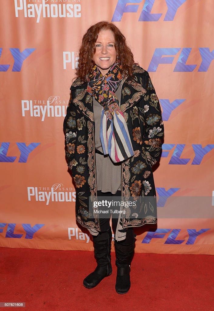 Actress Kacee Clanton attends the opening night of the play 'Fly' at Pasadena Playhouse on January 31, 2016 in Pasadena, California.
