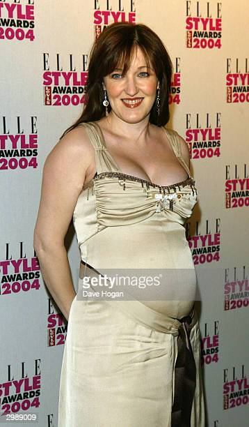 Actress Kacey Ainsworth arrives at the Elle Style Awards 2004 at The Natural History Museum on February 16 2004 in London