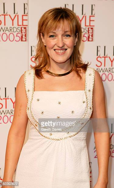 Actress Kacey Ainsworth arrives at the Elle Style Awards 2005 at Spitalfields Market February 15 2005 in London The fashion magazine's annual awards...