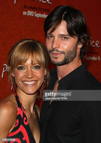 Actress KaDee Strickland and actor Jason Behr arrive to the Private Practice Complete First SeasonExtended Edition DVD Launch Party in Hollywood...