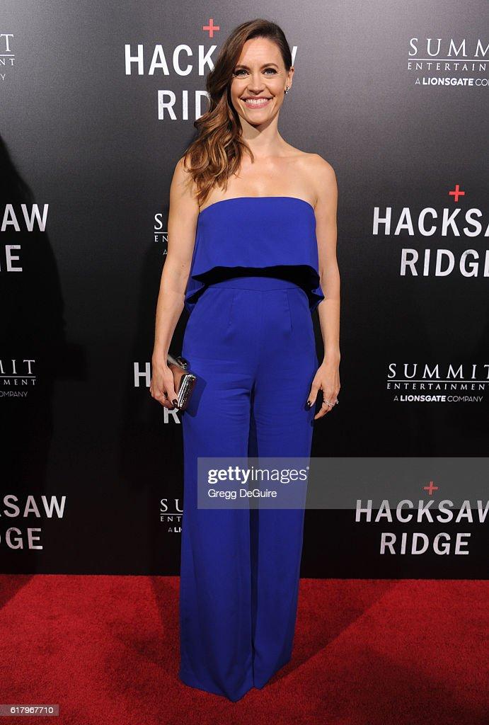 "Screening Of Summit Entertainment's ""Hacksaw Ridge"" - Arrivals"