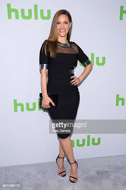 Actress KaDee Strickland attends the 2017 Hulu Television Critics Association winter press tour at Langham Hotel on January 7 2017 in Pasadena...