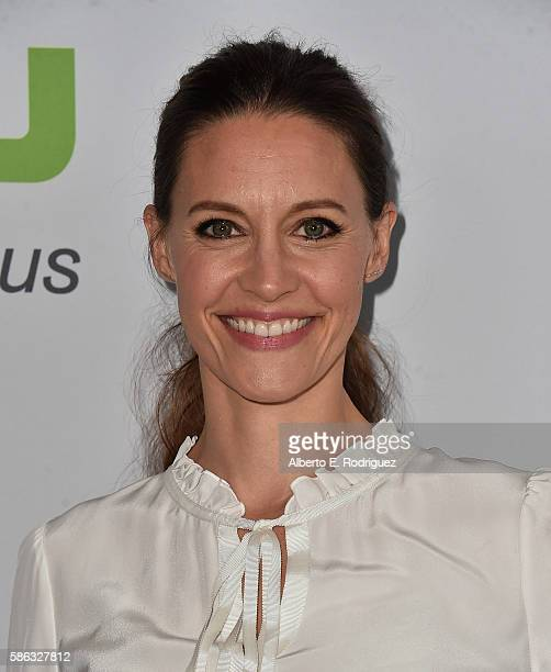 Actress KaDee Strickland attends the Hulu TCA Summer 2016 at The Beverly Hilton Hotel on August 5 2016 in Beverly Hills California