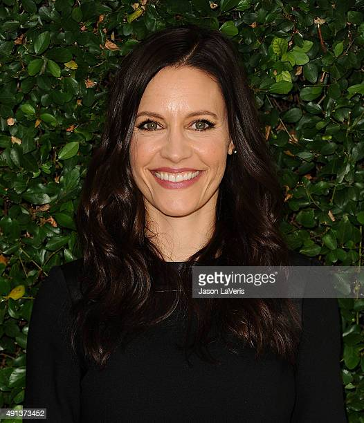 Actress KaDee Strickland attends the Rape Foundation's annual brunch at Greenacres The Private Estate of Ron Burkle on October 4 2015 in Beverly...
