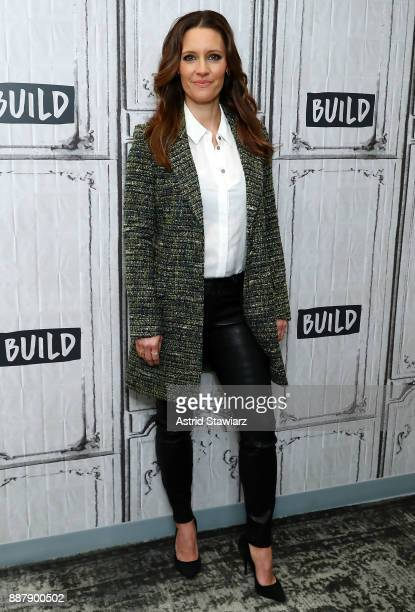 Actress KaDee Strickland discusses Hulu original series 'Shut Eye' at Build studio on December 7 2017 in New York City