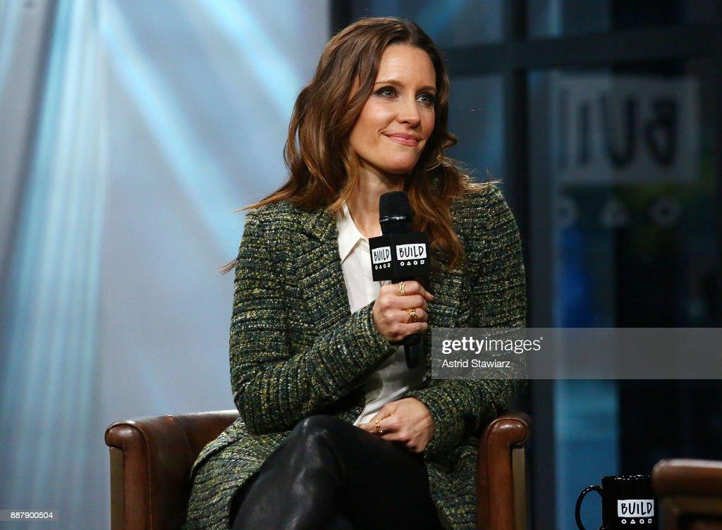Actress KaDee Strickland discusses Hulu original series 'Shut Eye' at Build studio on December 7, 2017 in New York City.