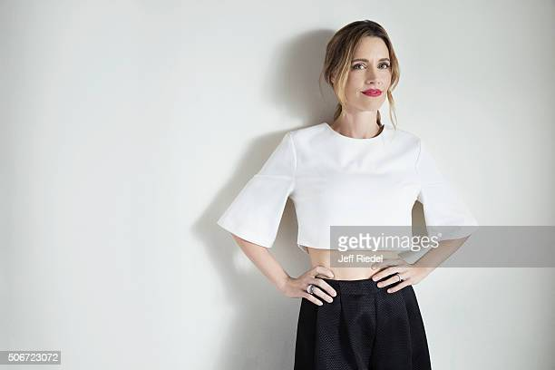 Actress KaDee Strickland is photographed for TV Guide Magazine on January 14 2015 in Pasadena California