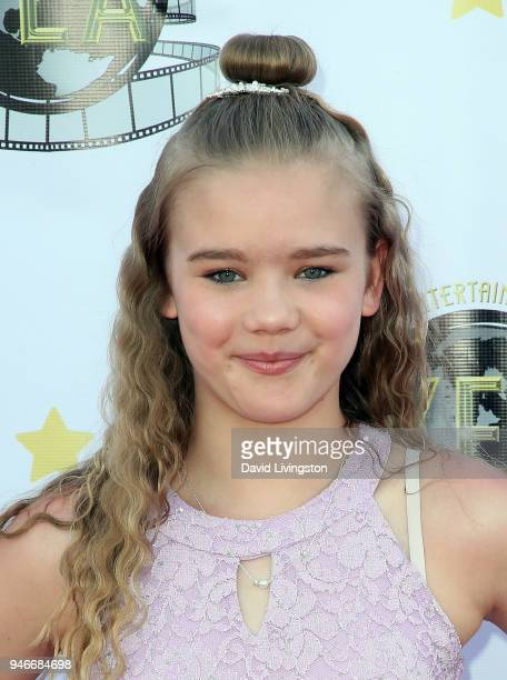 Actress Kadence Kendall Roach attends the 3rd Annual Young Entertainer Awards at The Globe Theatre on April 15 2018 in Universal City California
