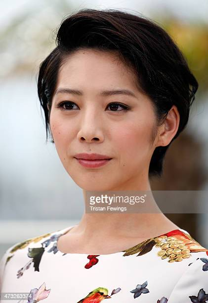 Actress Kaho attends a photocall for 'Umimachi Diary' during the 68th annual Cannes Film Festival on May 14 2015 in Cannes France