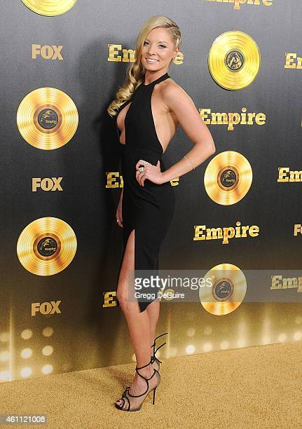 Actress Kaitlin Doubleday arrives at the red carpet premiere of Empire at ArcLight Cinemas Cinerama Dome on January 6 2015 in Hollywood California