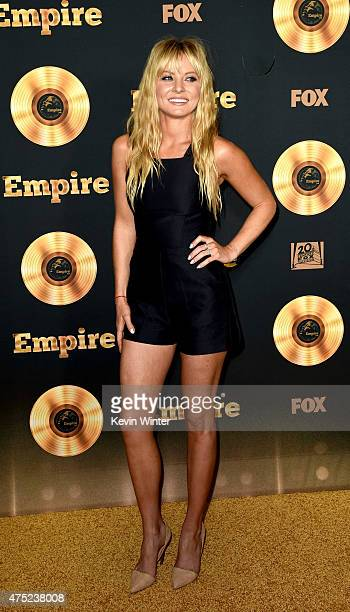 Actress Kaitlin Doubleday arrives at the Television Academy event for Fox Tv's 'Empire' A Performance Under The Stars at The Grove on May 28 2015 in...