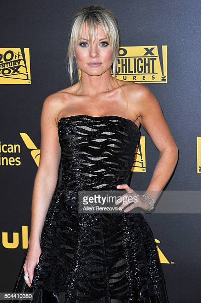 Actress Kaitlin Doubleday attends Fox And FX's 2016 Golden Globe Awards Party on January 10 2016 in Beverly Hills California