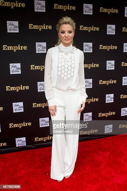 Actress Kaitlin Doubleday attends Saks Fifth Avenue Empire Fashion Week event on September 12 2015 in New York City
