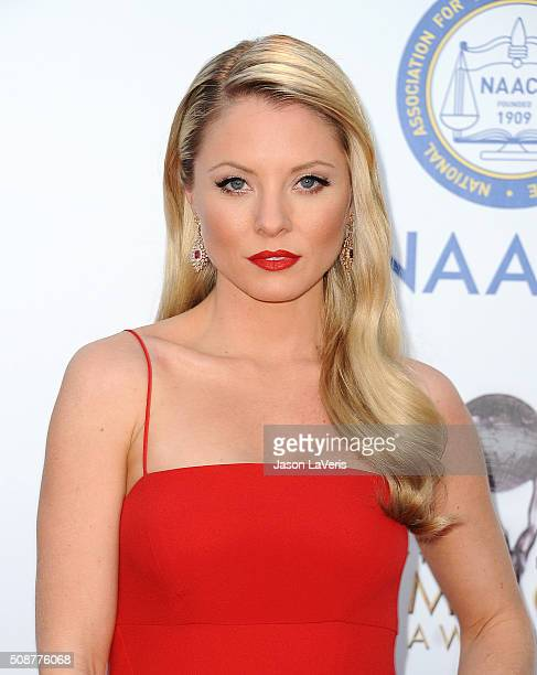 Actress Kaitlin Doubleday attends the 47th NAACP Image Awards at Pasadena Civic Auditorium on February 5 2016 in Pasadena California