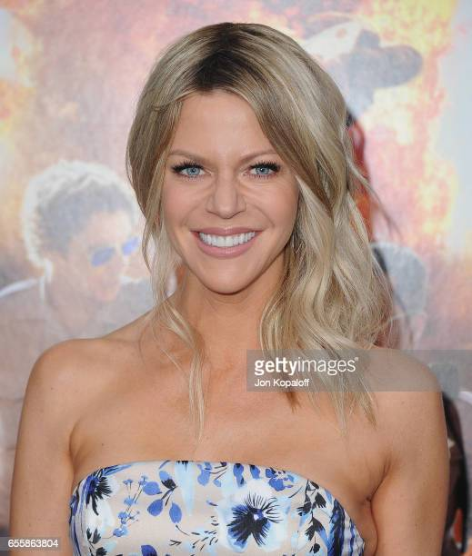 Actress Kaitlin Olson arrives at the Los Angeles Premiere 'CHiPS' at TCL Chinese Theatre on March 20 2017 in Hollywood California