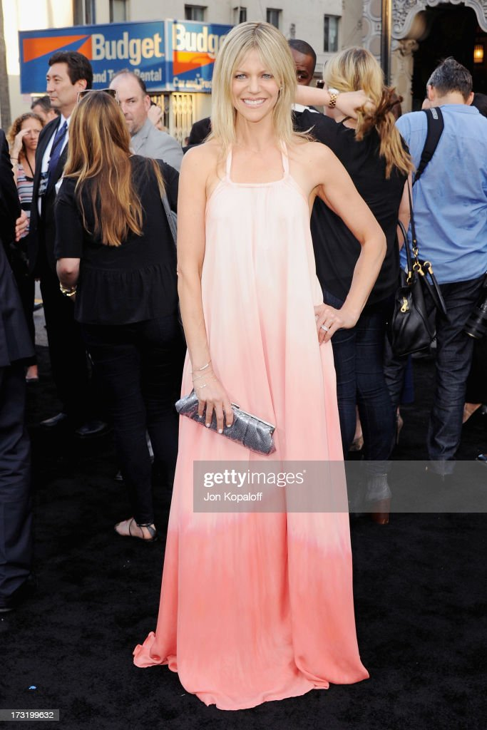 Actress Kaitlin Olson arrives at the Los Angeles Premiere 'Pacific Rim' at Dolby Theatre on July 9, 2013 in Hollywood, California.