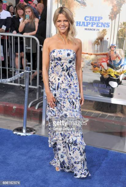 """Actress Kaitlin Olson arrives at the premiere of Warner Bros. Pictures' """"CHiPS"""" at TCL Chinese Theatre on March 20, 2017 in Hollywood, California."""