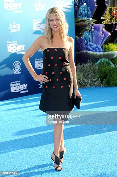 Actress Kaitlin Olson arrives at the World Premiere of DisneyPixar's 'Finding Dory' at the El Capitan Theatre on June 8 2016 in Hollywood California