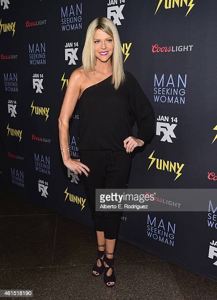 Actress Kaitlin Olson arrives to the premiere of FXX's It's Always Sunny in Philadelphia 10th Season and Man Seeking Woman at DGA Theater on January...