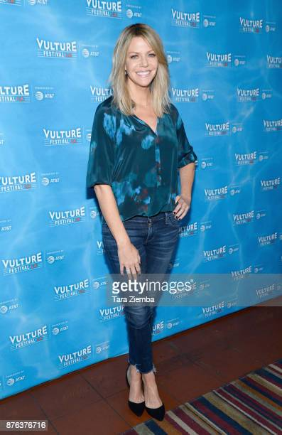 Actress Kaitlin Olson attends It's Always Sunny In Philadelphia panel during Vulture Festival Los Angeles at Hollywood Roosevelt Hotel on November 19...