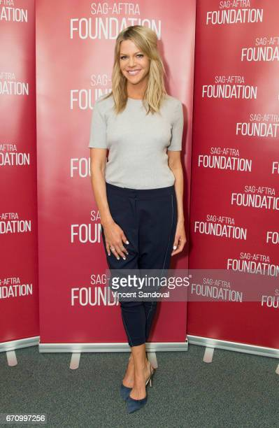 Actress Kaitlin Olson attends SAGAFTRA Foundation's Conversations with 'The Mick' at SAGAFTRA Foundation Screening Room on April 20 2017 in Los...