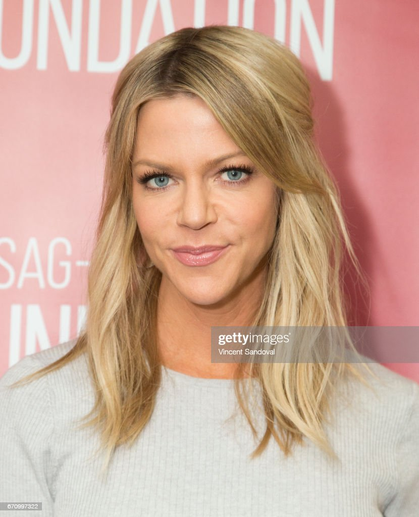 Actress Kaitlin Olson attends SAG-AFTRA Foundation's Conversations with 'The Mick' at SAG-AFTRA Foundation Screening Room on April 20, 2017 in Los Angeles, California.