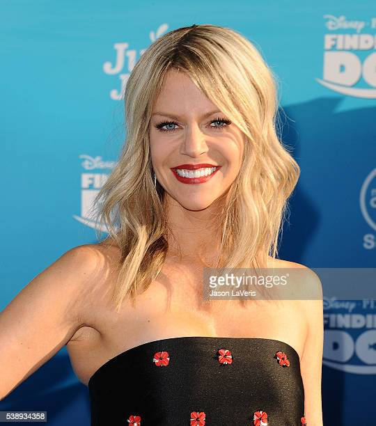 Actress Kaitlin Olson attends the premiere of 'Finding Dory' at the El Capitan Theatre on June 8 2016 in Hollywood California