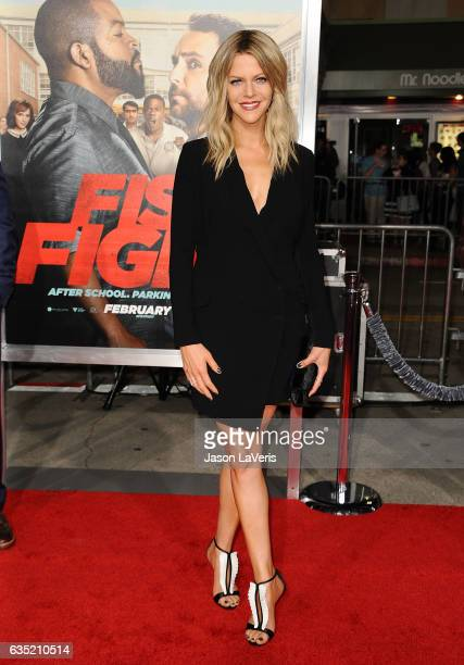 Actress Kaitlin Olson attends the premiere of Fist Fight at Regency Village Theatre on February 13 2017 in Westwood California