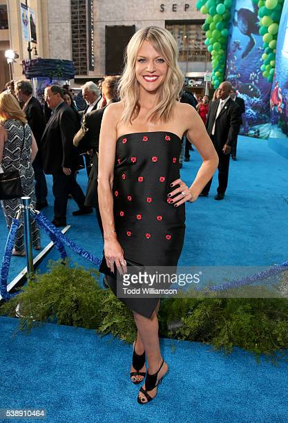Actress Kaitlin Olson attends the world premiere of DisneyPixar's 'Finding Dory' at the El Capitan Theatre on June 8 2016 in Hollywood California