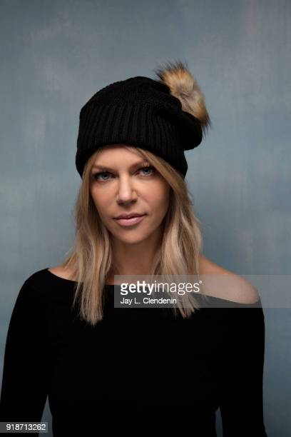 Actress Kaitlin Olson from the film 'Arizona' is photographed for Los Angeles Times on January 20 2018 in the LA Times Studio at Chase Sapphire on...