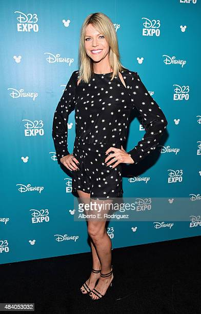 Actress Kaitlin Olson of FINDING DORY took part today in 'Pixar and Walt Disney Animation Studios The Upcoming Films' presentation at Disney's D23...