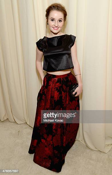 Actress Kaitlyn Dever attends the 22nd Annual Elton John AIDS Foundation Academy Awards Viewing Party at The City of West Hollywood Park on March 2...