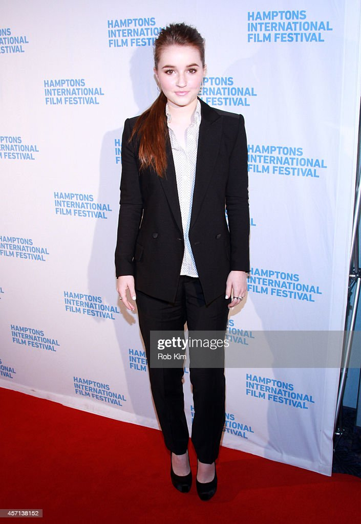 Actress Kaitlyn Dever attends the Laggies premiere during the 2014 Hamptons International Film Festival on October 12, 2014 in East Hampton, New York.
