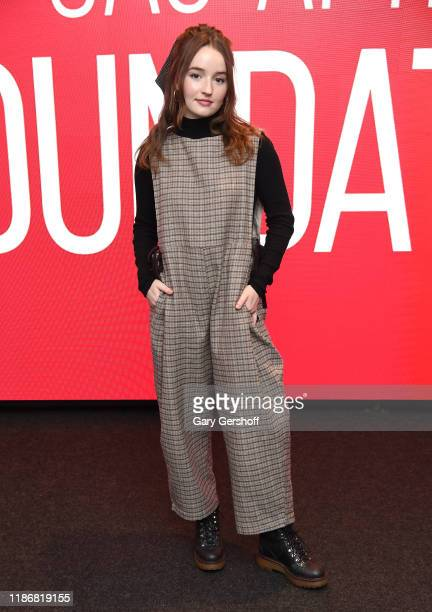 """Actress Kaitlyn Dever attends the SAG-AFTRA Foundation Conversations: """"Unbelievable"""" at The Robin Williams Center on November 10, 2019 in New York..."""