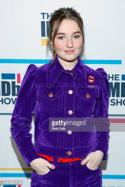 Actress Kaitlyn Dever visits 'The IMDb Show' on May 14 2019 in Studio City California This episode of 'The IMDb Show' airs on May 27 2019