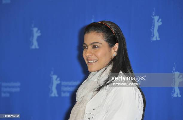 Actress Kajol Devgan attends the 'My Name Is Khan' Photocall during day two of the 60th Berlin International Film Festival at the Grand Hyatt Hotel...