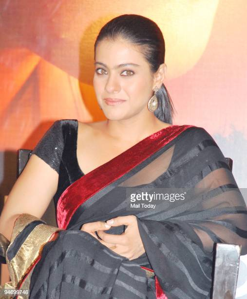 Actress Kajol during a first look screening for the movie My Name is Khan in Mumbai on Wednesday December 16 2009