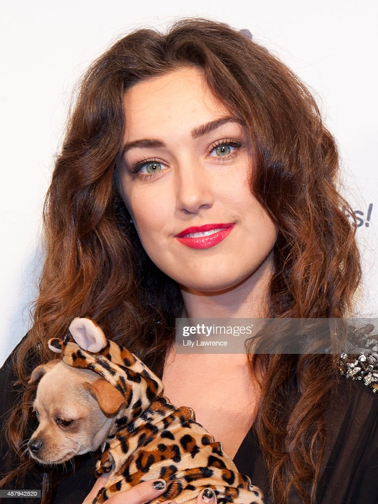 Actress Kaleina Cordova attends the Amanda Foundation's 2014 Bow Wow Beverly Hills Halloween Rodeo Drive 'Night Of The Living Dog!' Event at Via Rodeo at Two Rodeo Drive on October 26, 2014 in Beverly Hills, California.