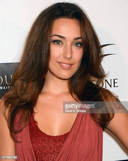 Actress Kaleina Cordova attends the 'Pernicious' premiere at Arena Cinema Hollywood on June 19 2015 in Hollywood California